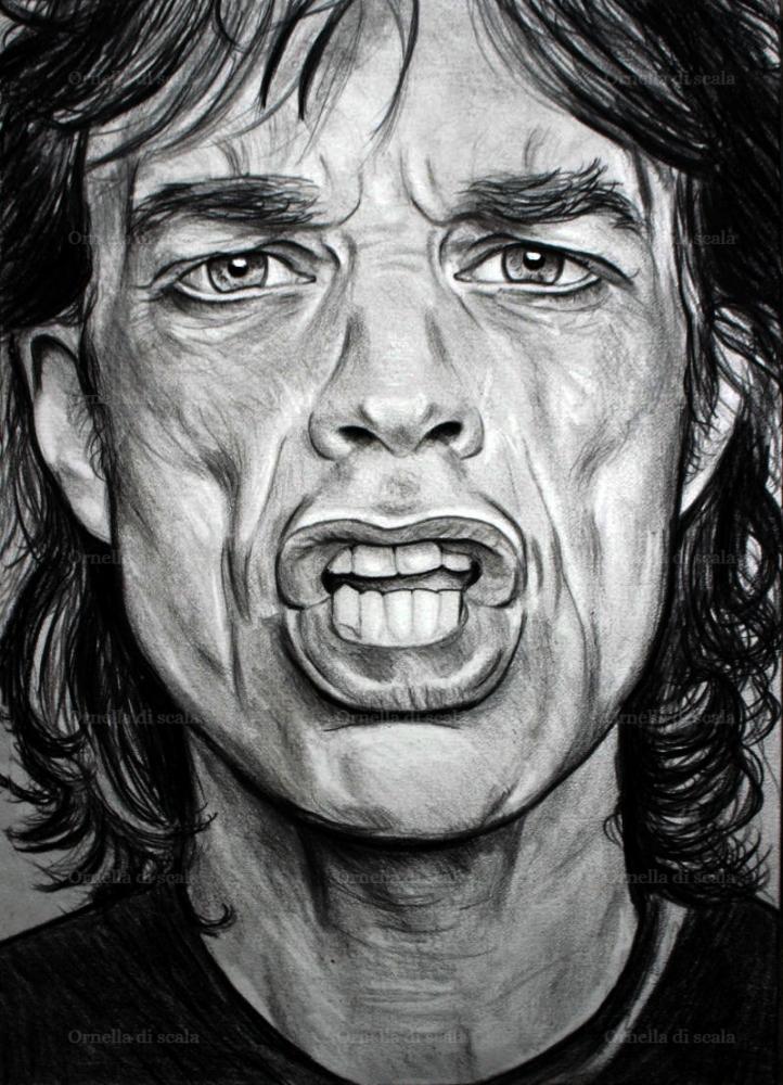 Mick Jagger by velvetdressx